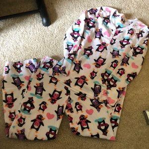 🐧 Penguin fleece pajamas M